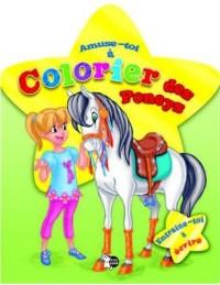 Poneys Tome 1 : Amuse toi à colorier