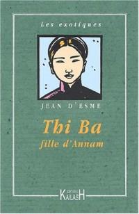 Thi Ba, fille d'Annam