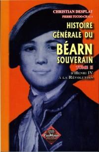 Histoire Generale du Bearn Souverain T2 T02
