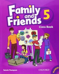 Family and Friends 5 : Class Book (1Cédérom)