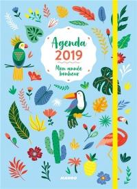 Agenda 2019 Mon année bonheur