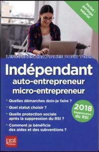 Indépendant, auto-entrepreneur, micro-entrepreneur