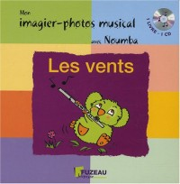 mon imagier-photos musical : Les vents (+ 1CD audio)