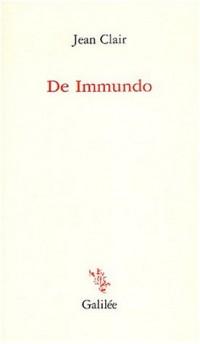 De Immundo : Apophatisme et apocatastase dans l'art d'aujourd'hui
