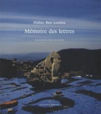 Mémoire des lettres