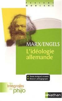 L'idéologie allemande (1845-1846) : Première partie