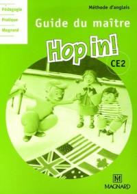 Anglais CE2 Hop in! : Guide du maître (2CD audio)