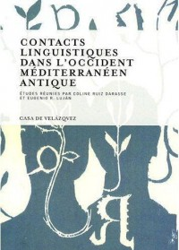 Contacts Linguistiques Dans l Occident Méditerranéen Antique