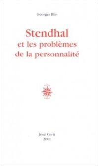 Stendhal et les problèmes de la personnalité