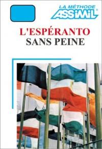 L'Espéranto sans peine (1 livre + coffret de 4 cassettes)