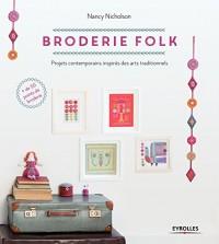 Broderie folk: Projets contemporains inspirés de motifs traditionnels