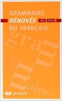 Grammaire rénovée du français