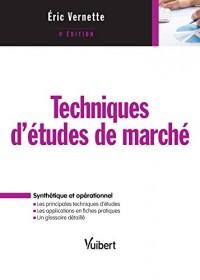 Techniques d'étude de marché