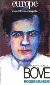 Europe 2003, numéro 895-896 : Emmanuel Bove