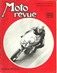 Moto revue n° 1926. 1969. Essai Honda CB 125 MK2 (5 pages). Yamaha compétition client 250 TD2 et 350 TR2 (2 pages). GP Rimini et Modène: Pasolini et Agostini (2 pages)