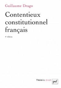 Le contentieux constitutionnel français