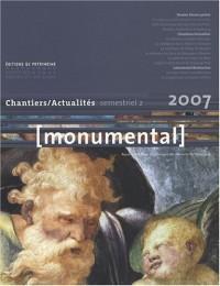 Monumental, N° 2, Décembre 2007 : Les décors peints