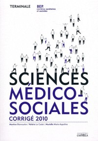 Sciences Medico Sociales Term Bep Css Corrige ed 2010