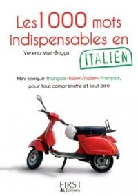 Les 1000 mots indispensables en italien