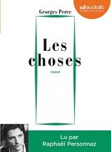 Les Choses: Livre audio 1 CD MP3 - Présentation par Benoît Peeters [Livre audio]