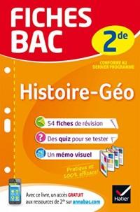 Fiches bac Histoire-Géographie 2de: fiches de révision Seconde