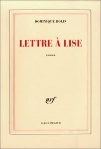 Lettre à Lise