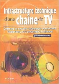 Infrastructure technique d'une chaîne de TV