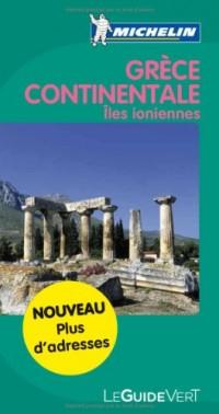 Guide Vert Grece Continentale