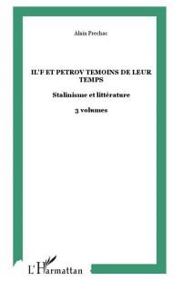 Il'F et Petrov (3 Vols) Témoins de Leur Temps (3 Vols)