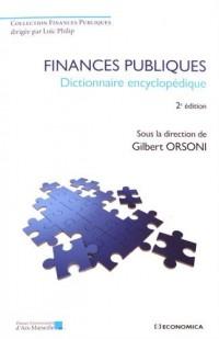 Finances publiques-Dictionnaire encyclopédique