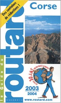 Guide du Routard : Corse 2003/2004