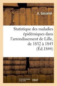 Statistique maladies epidemiques  ed 1844
