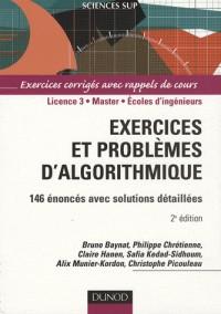 146 exercices et problèmes d'algorithmique