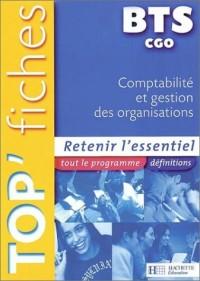 Comptabilité et gestion des organisation