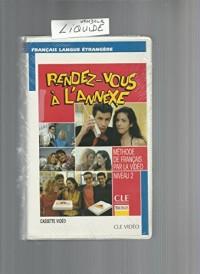 RENDEZ-VOUS A L'ANNEXE NIVEAU 2 1 CASSETTE VIDEO VHS-PAL