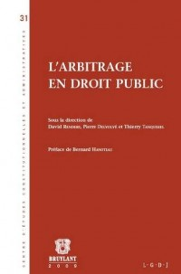 L'arbitrage en droit public