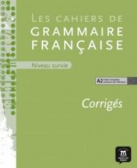 Cahier de grammaire a2 corrige+CD