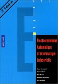 Electrotechnique automatique et informatique industrielle