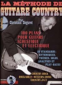 Méthode de Guitare Country (+ 1 CD) - Rebillard