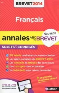 Annales Brevet 2014 Français Cor N23