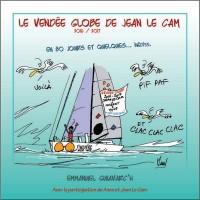 Le Vendée globe de Jean Le Cam en 80 jours et quelques...