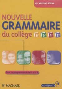 Nouvelle grammaire du collège : CD-Rom pour l'élève