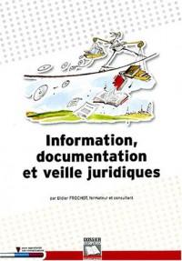 Information communication et veille juridique