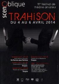 ScènOblique 2014 : Trahison