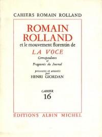 Romain Rolland et le mouvement florentin de la Voce