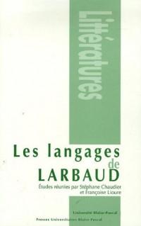 Les langages de Larbaud