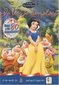 Je lis, je complète, Disney Blanche-Neige