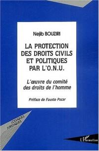 La protection des droits civils et politiques par l'ONU : L'oeuvre du comité des droits de l'homme