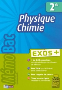 Physique Chimie 2e : Exos +