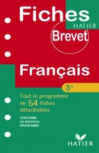 Fiches Brevet Hatier : Français, 3e
